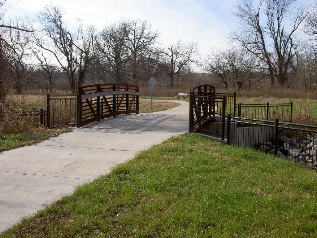 Clear Creek Bike and Pedestrian Trail – Shawnee, Kansas